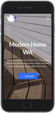 filia modernhomewa website mobile screenshot